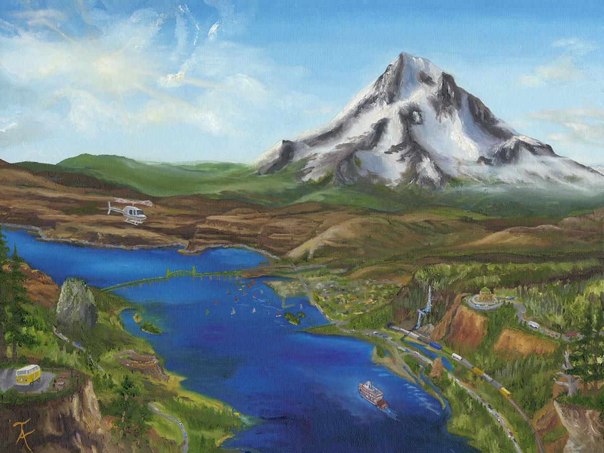 Taylor Allen Mt HoodTravel Painting 24 X 18 MF FINAL1200pixel